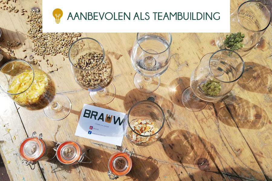 teambuilding introductie bier proeven